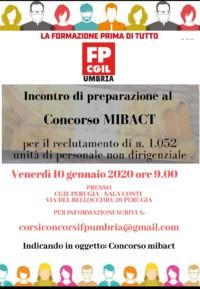 Corso Mibac Perugia