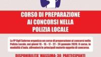 Corsi Polizia Locale Salerno