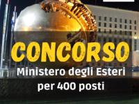CONCORSO MINISTERO ESTERI